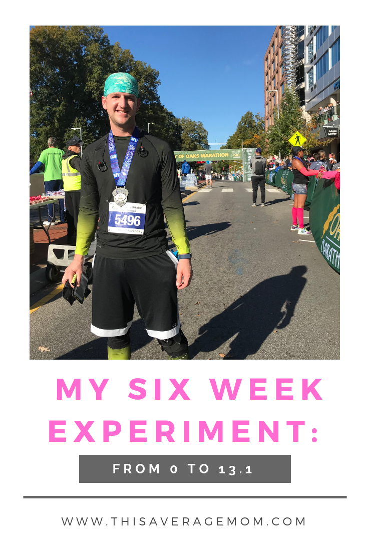 Think you can't be a runner? Or you don't have the time to train for a half marathon? Think again! #running #fitness #13.1 #runner #halfmarathon