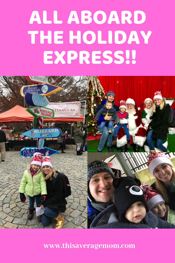 If you're in the Raleigh NC area and have young kids, you need to check out the Holiday Express! Head to this post for all the details!