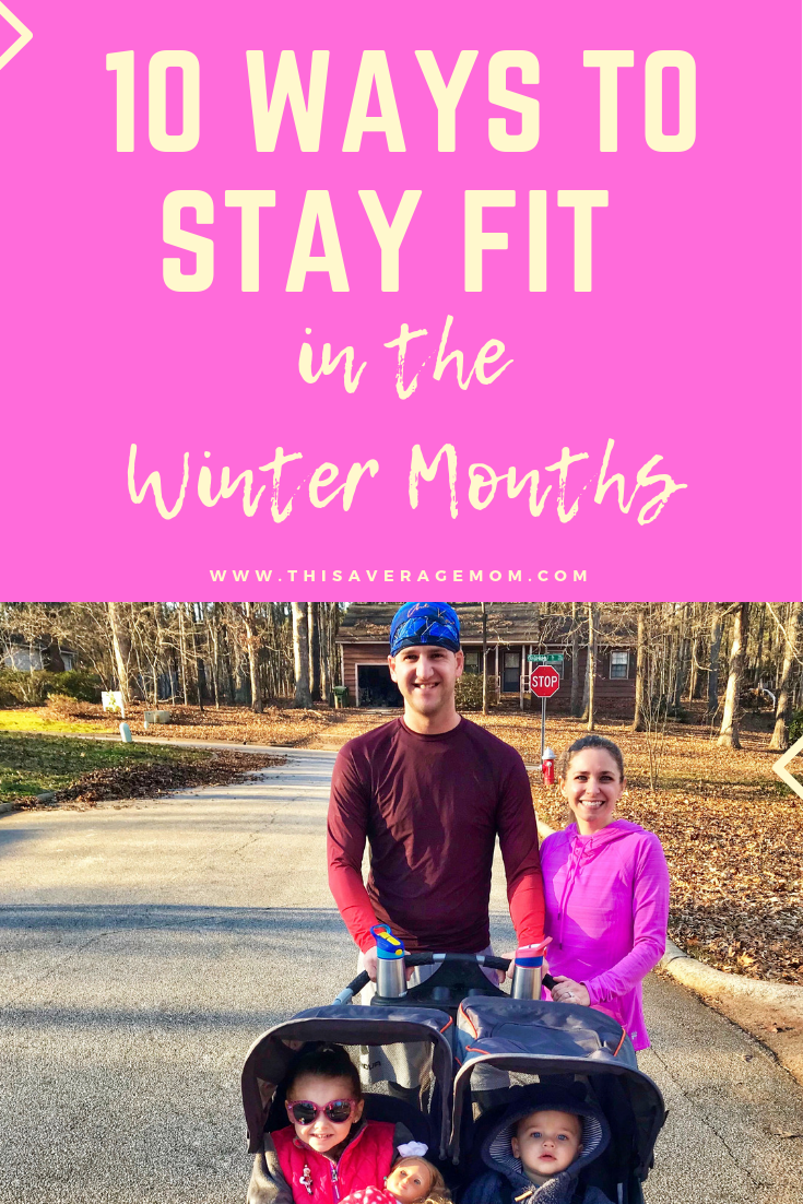 If you struggle to work out in the winter, this post is for you! Tips and strategies for winter fitness will help  you actually complete workouts and stay fit, no matter the weather. #fitmoms #exercise #workingout
