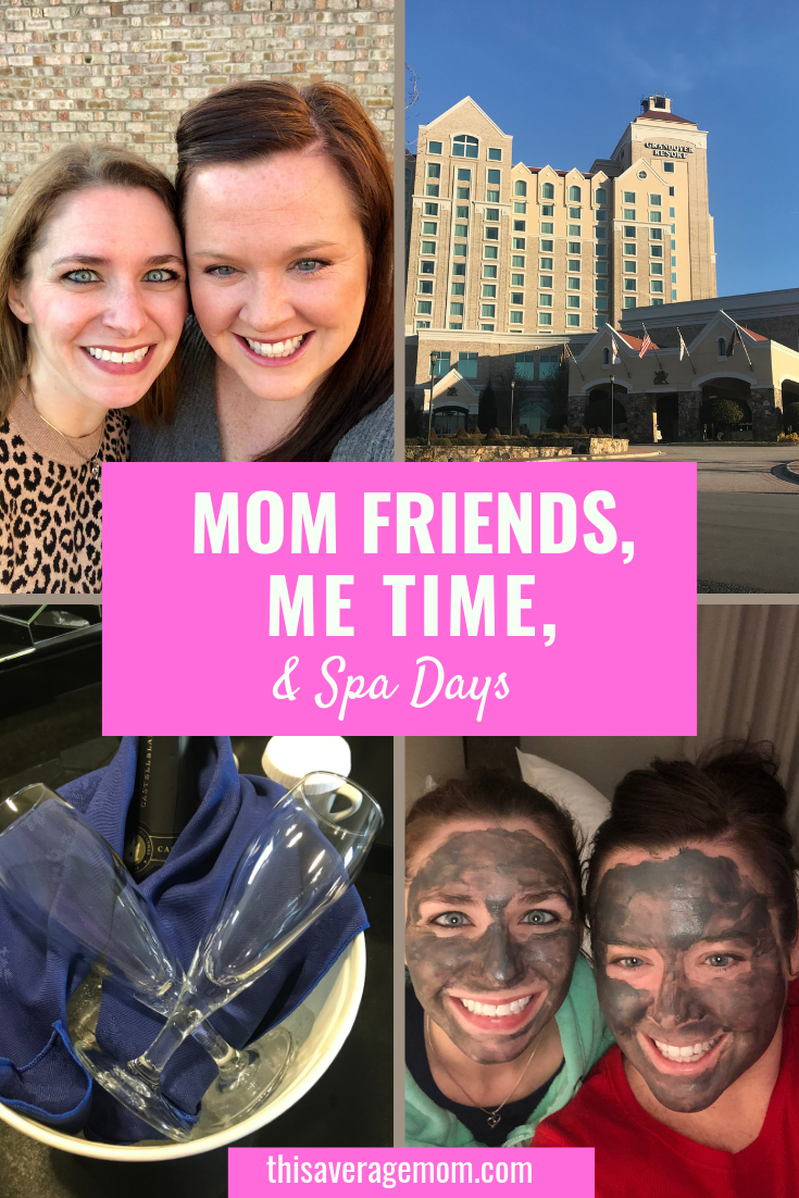 Every mom deserves a kid-free getaway once in a while. Mamas need time with friends, me time, and a good massage to relax and recharge. On the blog today, I'm recapping my BFF Spa Day and talking about the value of friendships and a night off from motherhood! #motherhood #momlife #momtruths #motherhood #mama #getaway #kidfree #massage #friendship #recharge #spaday #relaxation