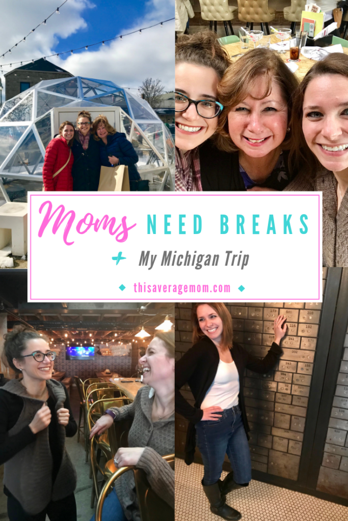 If you're like me, motherhood may not be easy and may not come naturally. While being a mama is rewarding and amazing, I also find that I need breaks. I need Me Time. Today, I'm talking about all this and sharing my recent trip to Michigan, where I enjoyed a kid-free weekend away! #momlife #motherhood #R&R