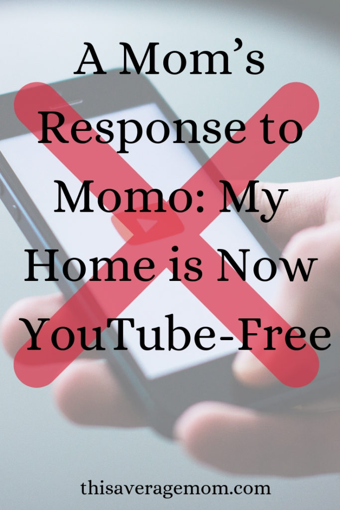 Momo and YouTube: By now you've heard about the Momo thing on YouTube. I've gotta be honest: my kids DO watch YouTube and Momo officially scared the crap out of me. Today on the blog, I'm sharing my response to Momo and why, as of this morning, my home is YouTube-free. #intentionalparenting #protectourkids #parenthood #youtube