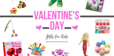 Do you need ideas for Valentine's Day gifts for your kids? If you give presents for Feb. 14, I've got a few ideas for you, mama! In our house, it's usually a smaller toy, a book, or something fun for the bath! What are you giving the kids this year? #happyvalentinesday #valentinesday #valentines #gifts #giftideas #toddlergifts #preschoolergifts