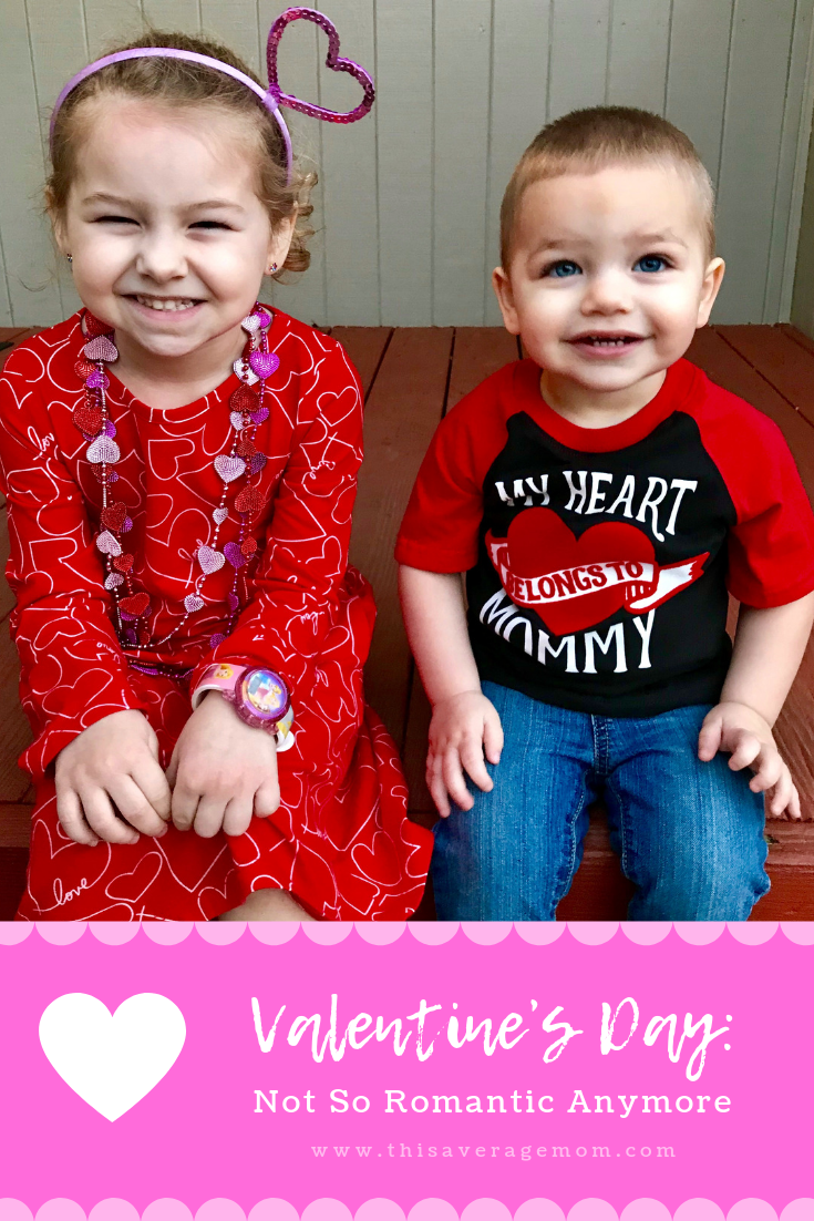 Valentine's Day before having kids meant date night. Valentine's Day after kids? More like a quick kiss on the cheek, no cards, no flowers. We get gifts for the kids and that's about it. Do you go all out for Valentine's Day, or is it just another day for you too?!?!