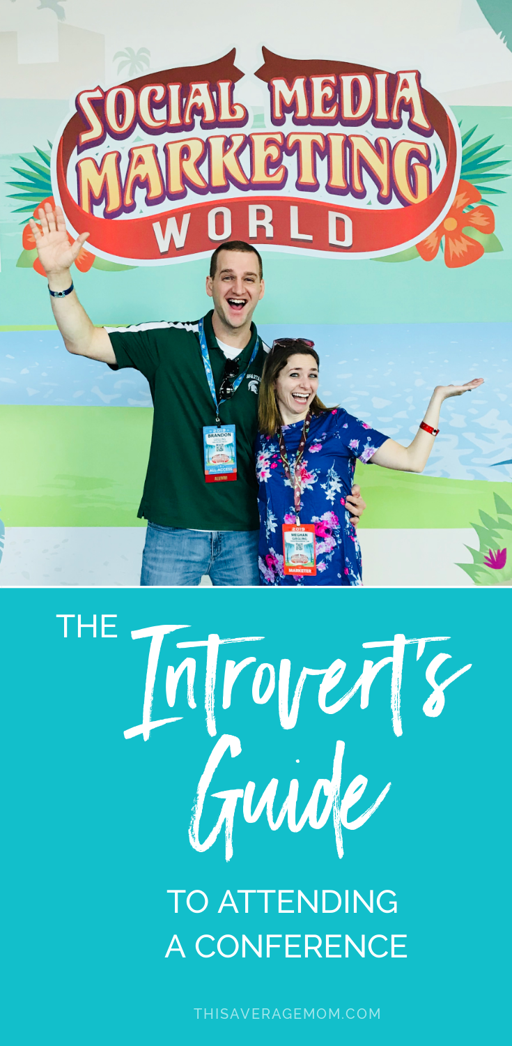 Do you need or want to attend a conference? Whether you're going for work or for personal growth, it can be hard to go to a conference as an introvert. I've got you covered with 5 tips for conferences as an introvert myself!!