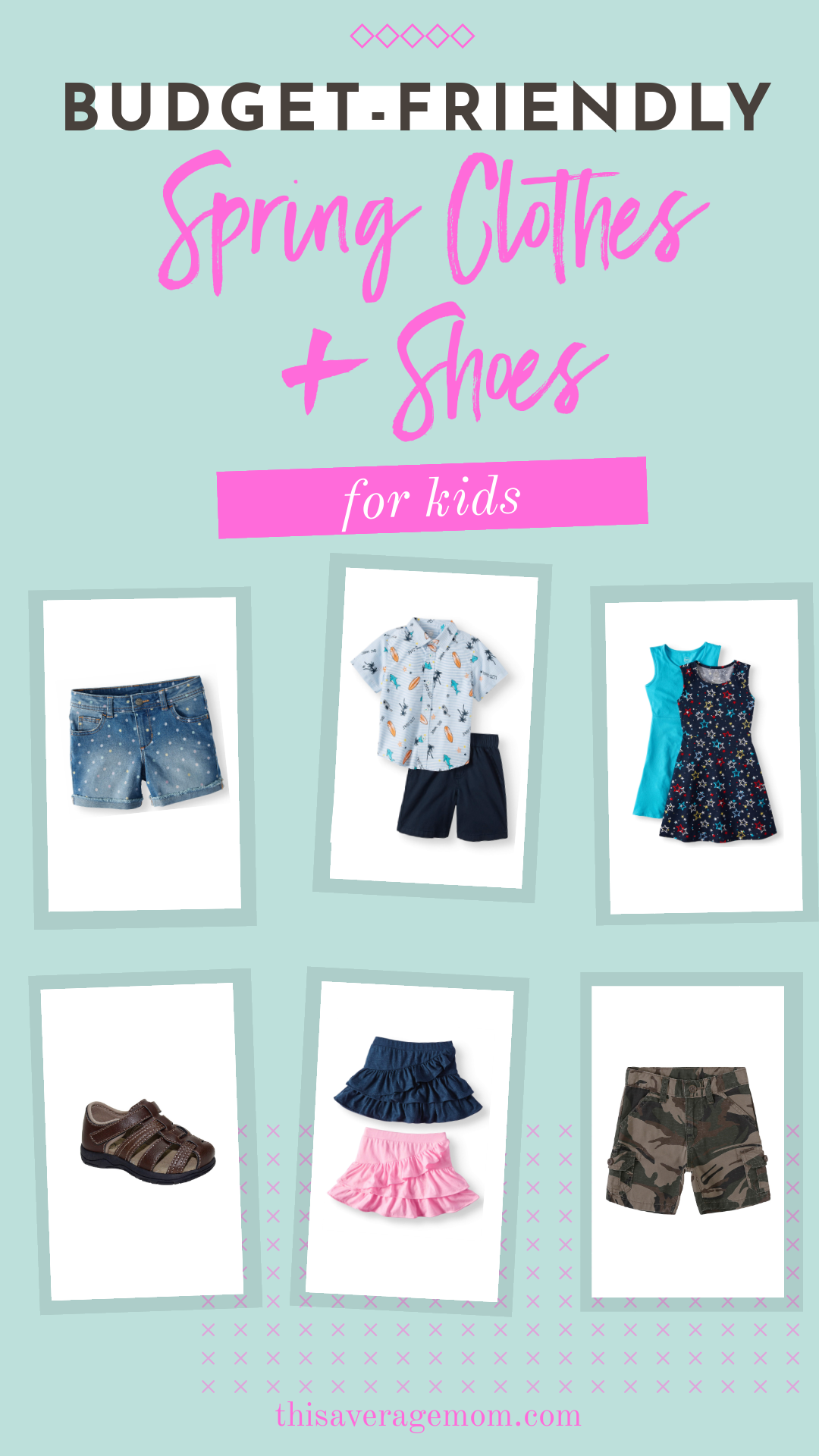 Why spend tons of money on kids clothes when you don't have to? I found tons of cute clothes for toddlers and kids at Walmart! For affordable, fun spring clothes and shoes for kids, I've got you covered! #walmartfinds #budgetfriendly #kidsclothes