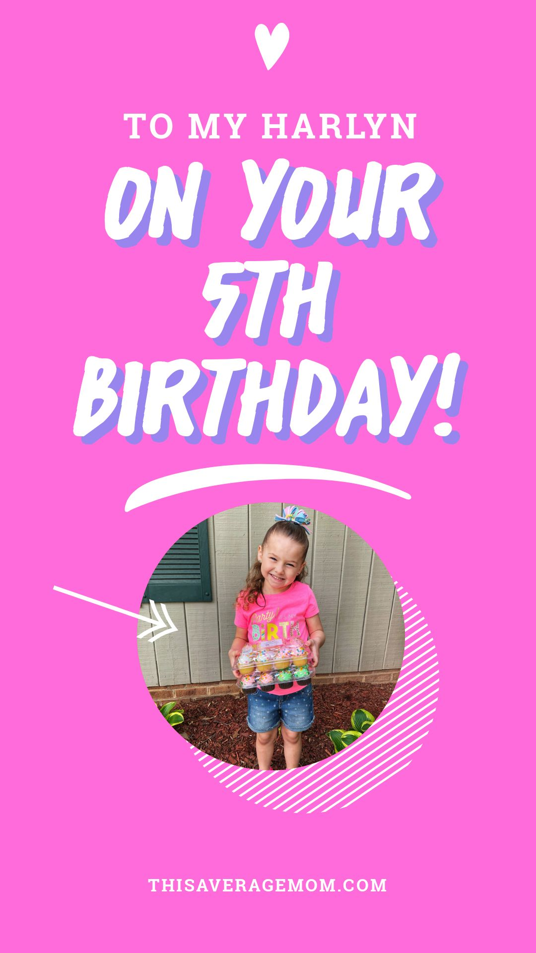 Happy 5th birthday to the girl who made me a mother