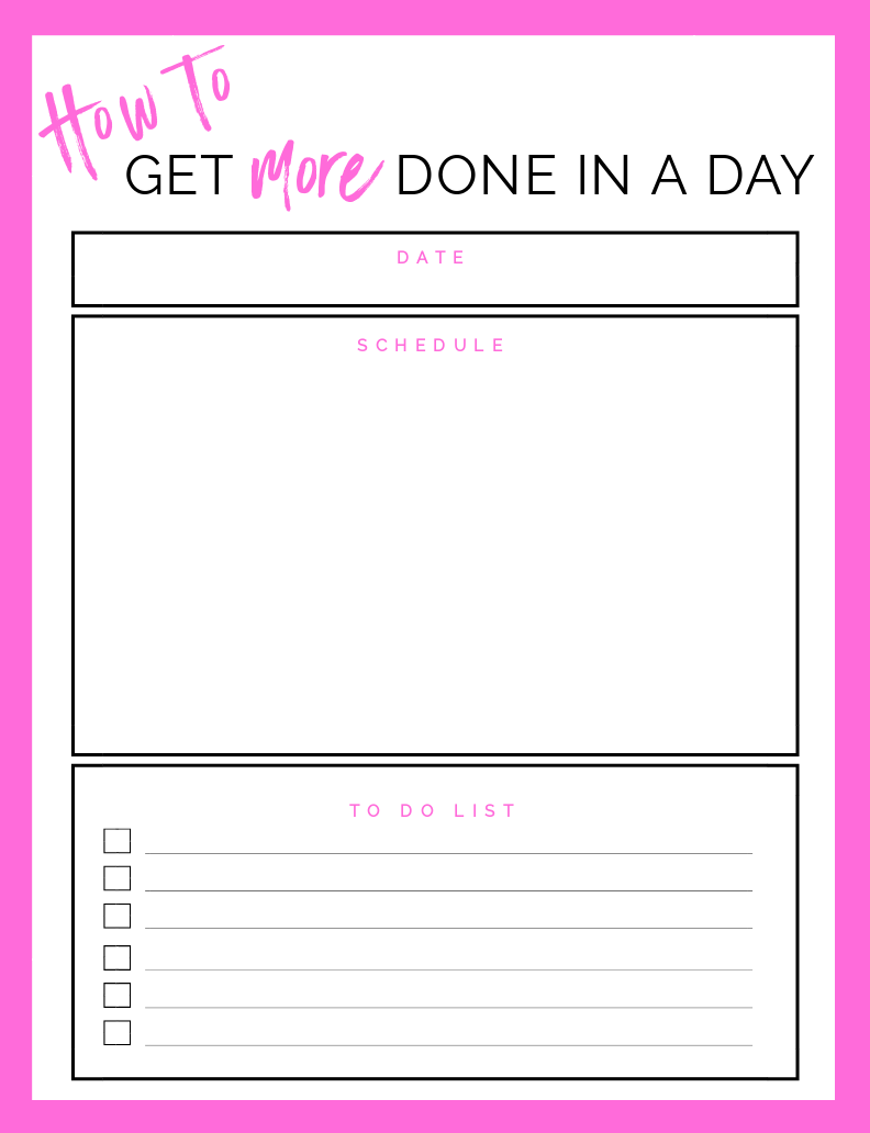"If you ever think to yourself ""I wish there was more time in the day"" or ""I just never get everything done!"" then I've got a blog post just for you! Here's 5 ways I am making the most of each day and finding the time to do the things I need to do and want to do! #productivity"