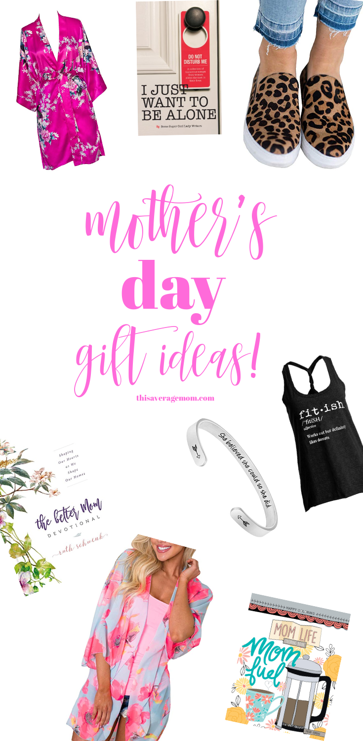 Need Mother's Day gift ideas? Check out my Amazon picks for ideas any mom will love! #mothersday #gifts