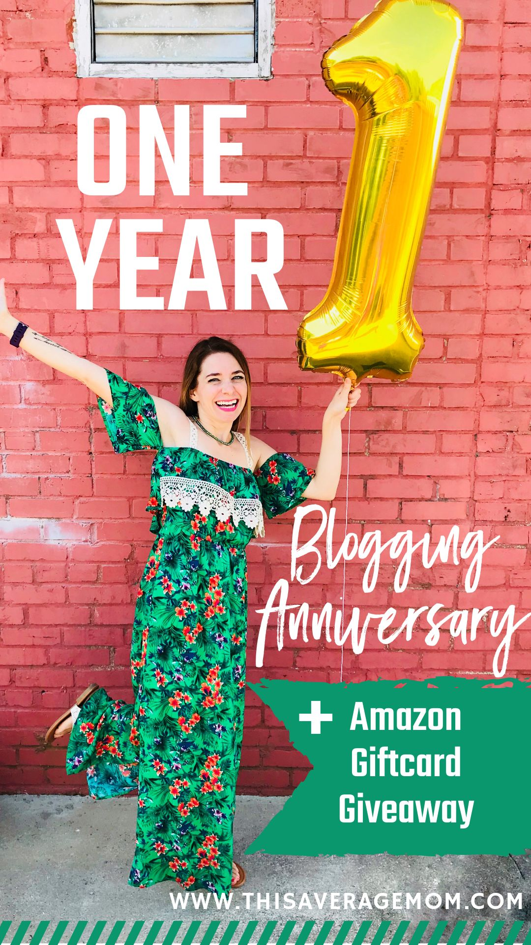 Want to win a $75 Amazon gift card? It's my one year blog anniversary and I'm giving away $75! Head to the blog to enter!