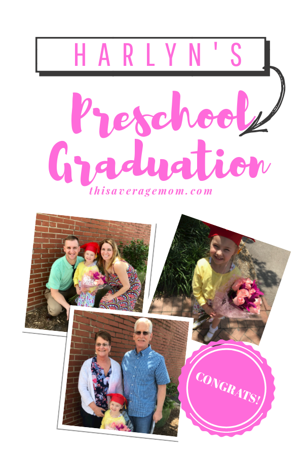 Last week was preschool graduation! Here's a few thoughts and pictures from the big day!