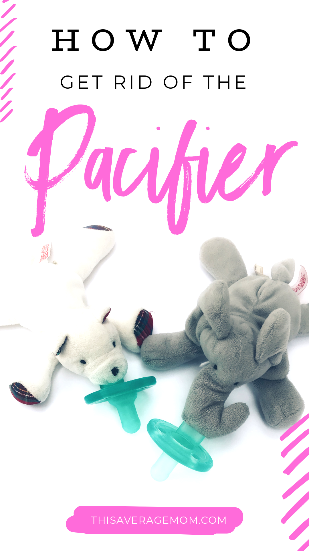 Wondering how to get rid of the pacifier? Is your child getting a little too old for a binky? Sharing my experience (x2) on kicking the paci habit and giving you my top tips! #pacifier #baby #toddler #motherhood