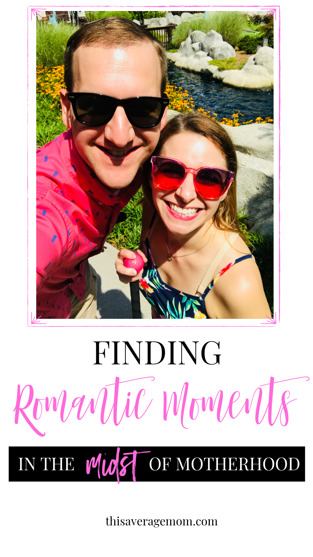 Ever feel like being a wife and a mom simultaneously is impossible? It doesn't have to be that way! Finding romantic moments with your spouse in the midst of motherhood is possible. This blog post will show you how! #marriage #relationships #parenthood