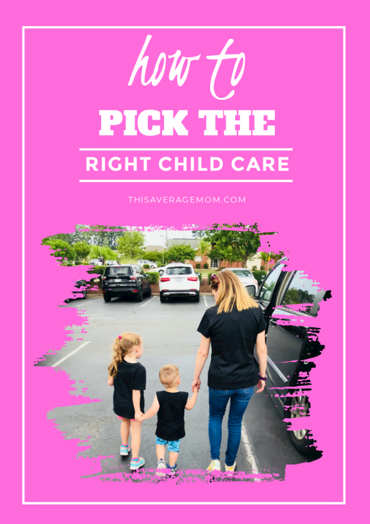 Finding the right child care for your family can be stressful. In today's post, I'm giving some tips and things to think through when deciding on the right place for your kids. Whether you're contemplating a center, a home daycare, a nanny or nanny share, or some other option, use these tips to feel confident in the care you choose. #kids #childcare