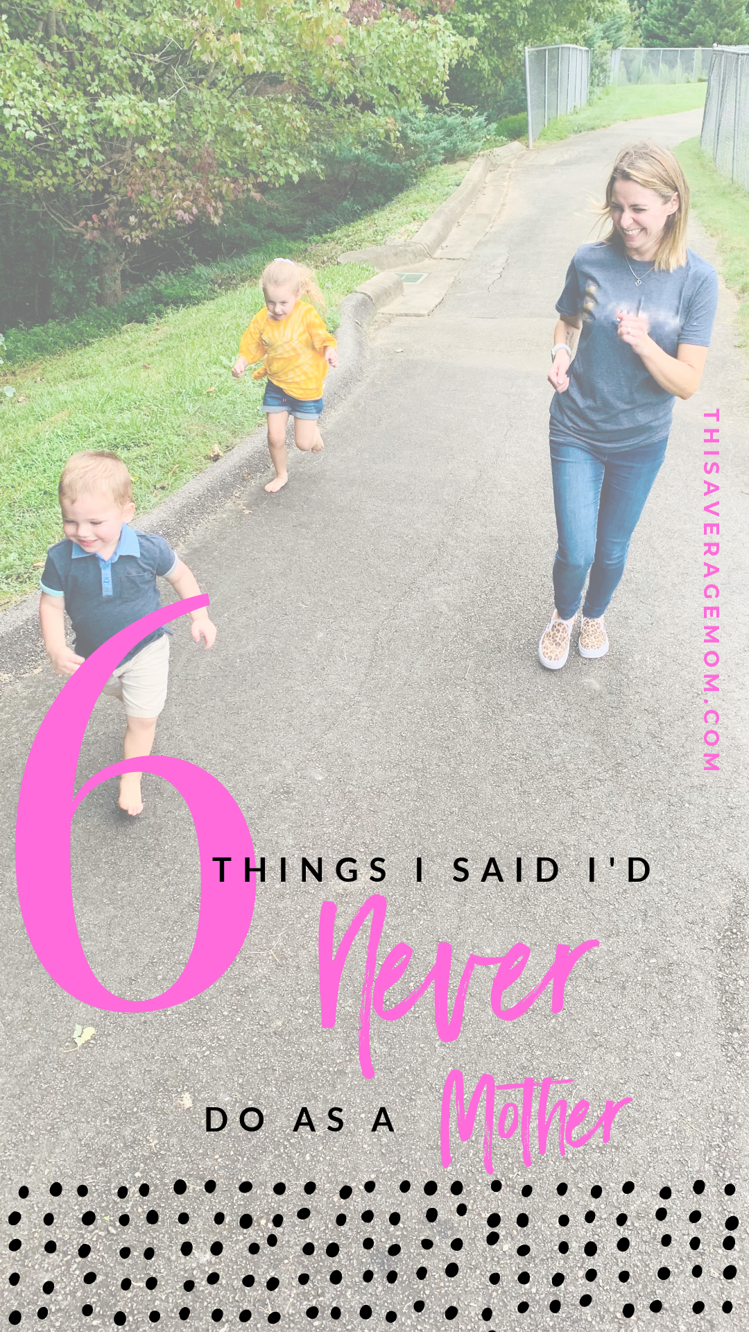 "Before you had kids, did you ever watch a mom and think to yourself, ""I'd never let my kid do that!� If so, you're not alone. Here's 6 things I said I'd never do as a mother that (spoiler alert) I totally believe in now. #motherhood #momlife"