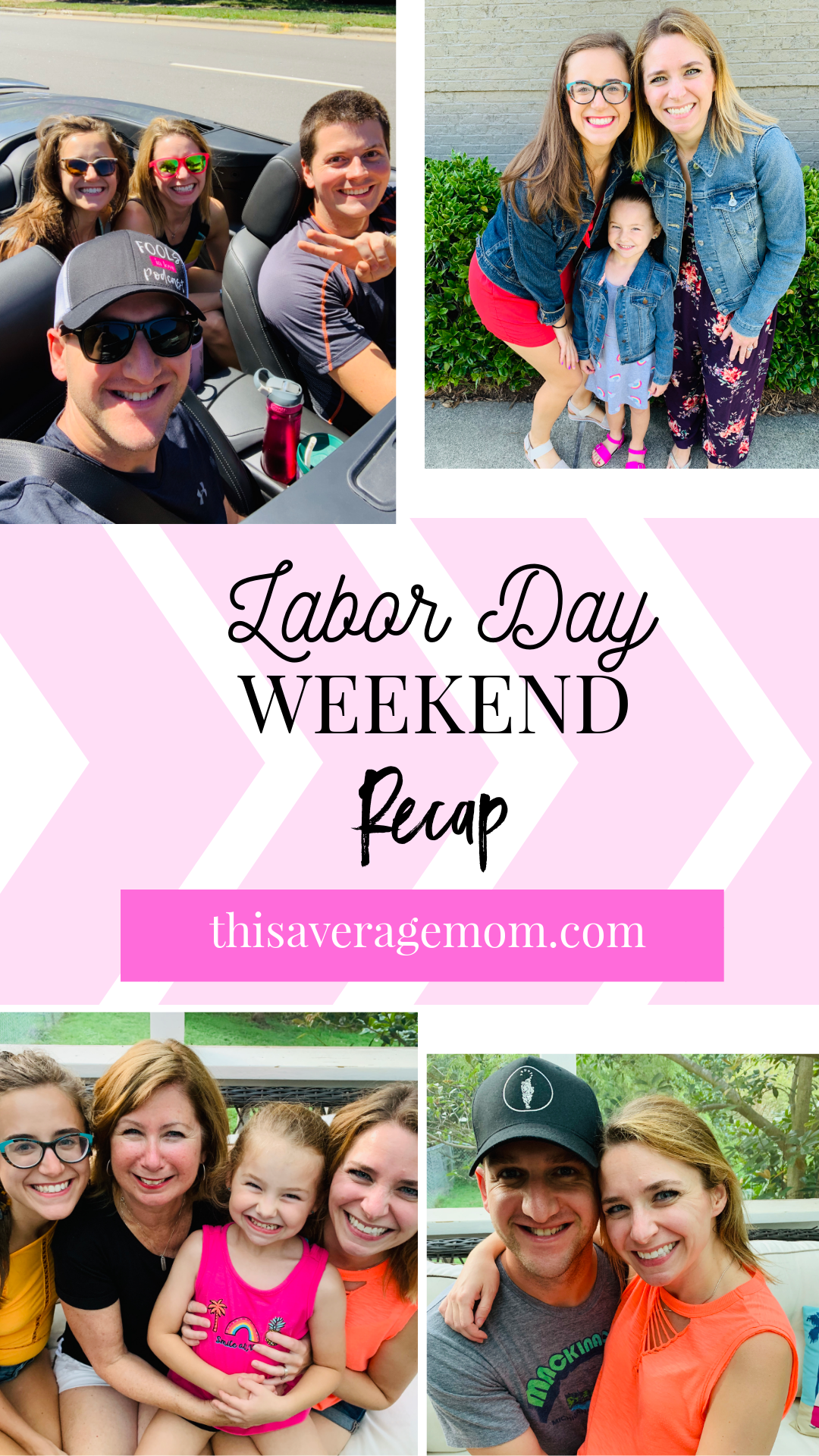 What does your family like to do on Labor Day?  We took the whole long weekend to relax and recharge! Recapping our weekend on the blog.