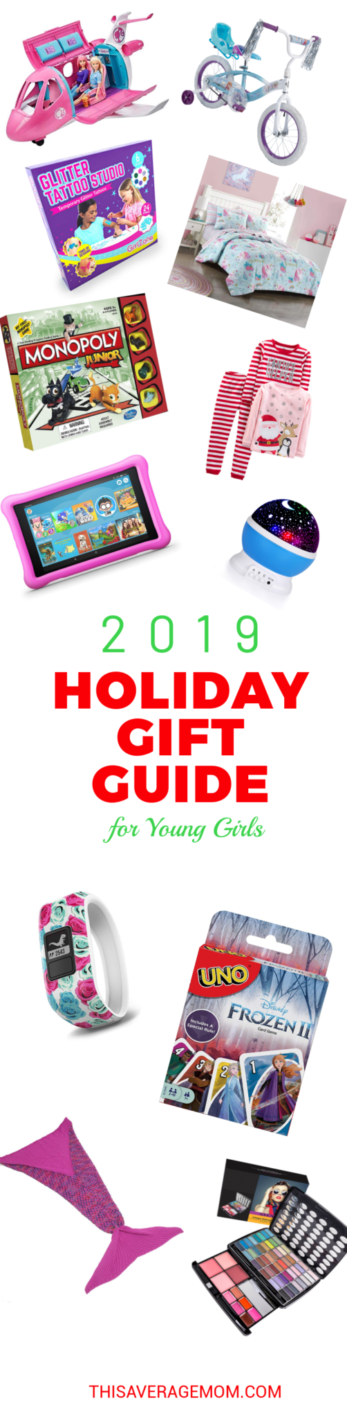 Need some gift ideas for young girls? I have you covered! Here's 12 gifts that the young girls in your life will love this Christmas. #christmaslist #santa #holidays
