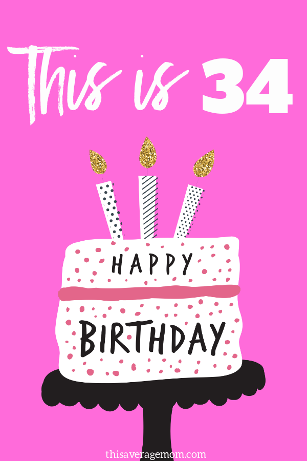In honor of my 34th birthday, I'm sharing 4 pieces of advice that I'd have given my younger self. It's 4 lessons I've learned along the way that have changed my thinking and the way I live. #growth #birthday #advice