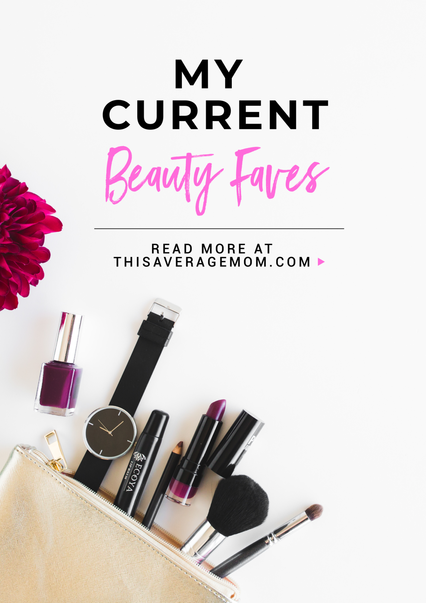 Who doesn't love a good beauty find? I'm sharing my five current beauty favorites on the blog today!