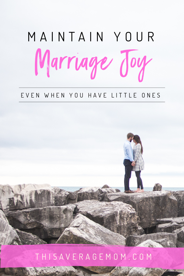 Finding joy in marriage can seem almost impossible when you have young kids at home. The day-to-day demands of raising kids, work, and keeping up the house can put marriage on the back burner. But guest blogger Jen Coursey is sharing that it doesn't have to be that way!