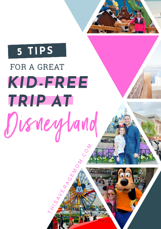 If you're a Disney newbie like me, I'm breaking down my top 5 tips for a great day at Disneyland! If you are able to go kid-free, I totally recommend...but either way, this blog post is still for you. Disney is just pure magic!!