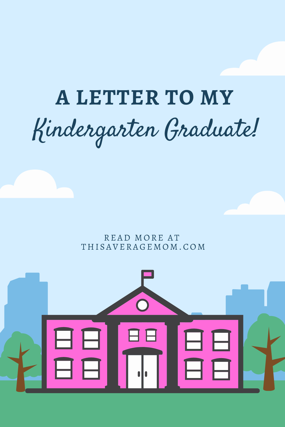 We've successfully completed the first year of school! Just sharing a little letter to my Kindergarten grad on the blog. :) #education #learning #kindergarten #quarantine