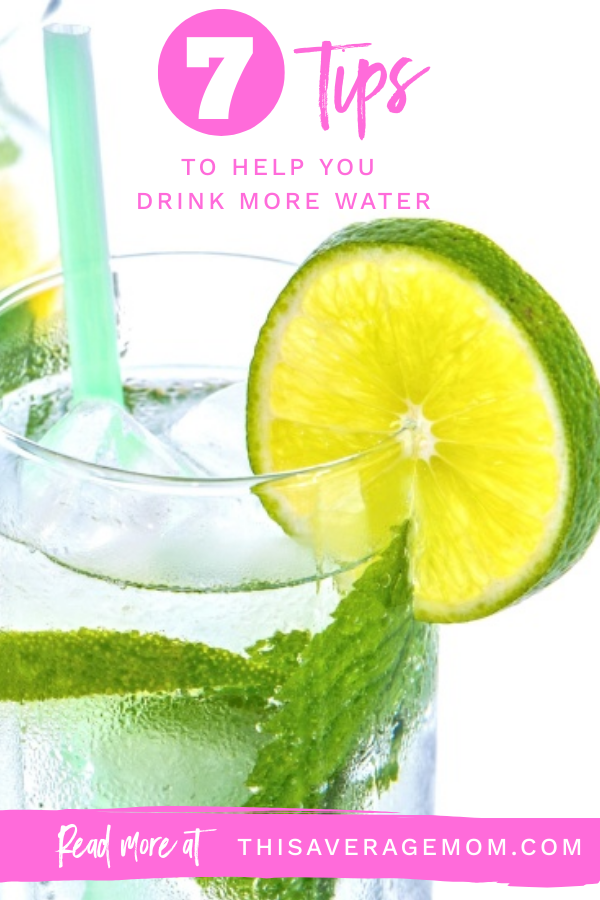 I'm sharing seven tips to help you drink more water today on the blog! Drinking water is one of the easiest ways we can focus on our health, and yet we often fail to get enough H2O in! Well, not anymore. Drink up!