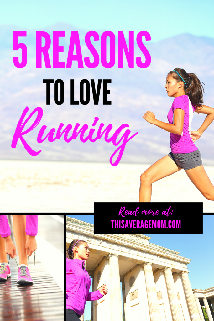 "Have you ever considered becoming a runner? If not, you should give running a shot! Here's 5 great things about running to help you say ""yes"" to your new favorite form of fitness! #exercise #fitmoms #momswhorun"