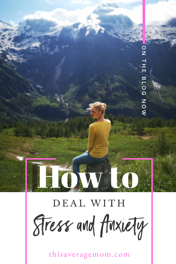 We're living in uncertain times, and stress and anxiety are creeping up for so many of us. I'm sharing 4 ways to help with stress and anxiety...because we could all use a little more serenity right now.