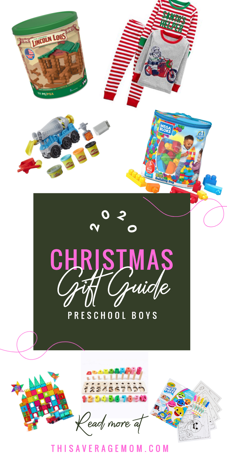 Christmas will be here before you know it! Here's some ideas for the toddler + preschool boys in your life. #giftguide #presents #toys #christmas