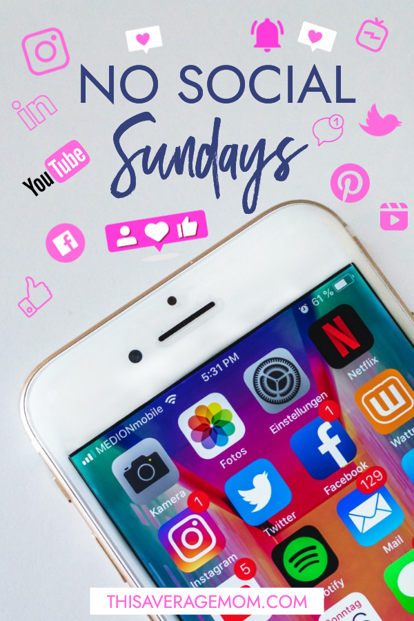 Have you ever intentionally stayed off social media for a set amount of time? As part of our 2021 monthly challenges, my husband and I named January the month of No Social Sundays. Here's how it turned out! #unplugged #nosocialsundays